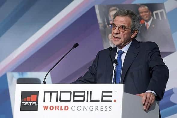 César Alierta, the chairman and chief executive of Telefónica