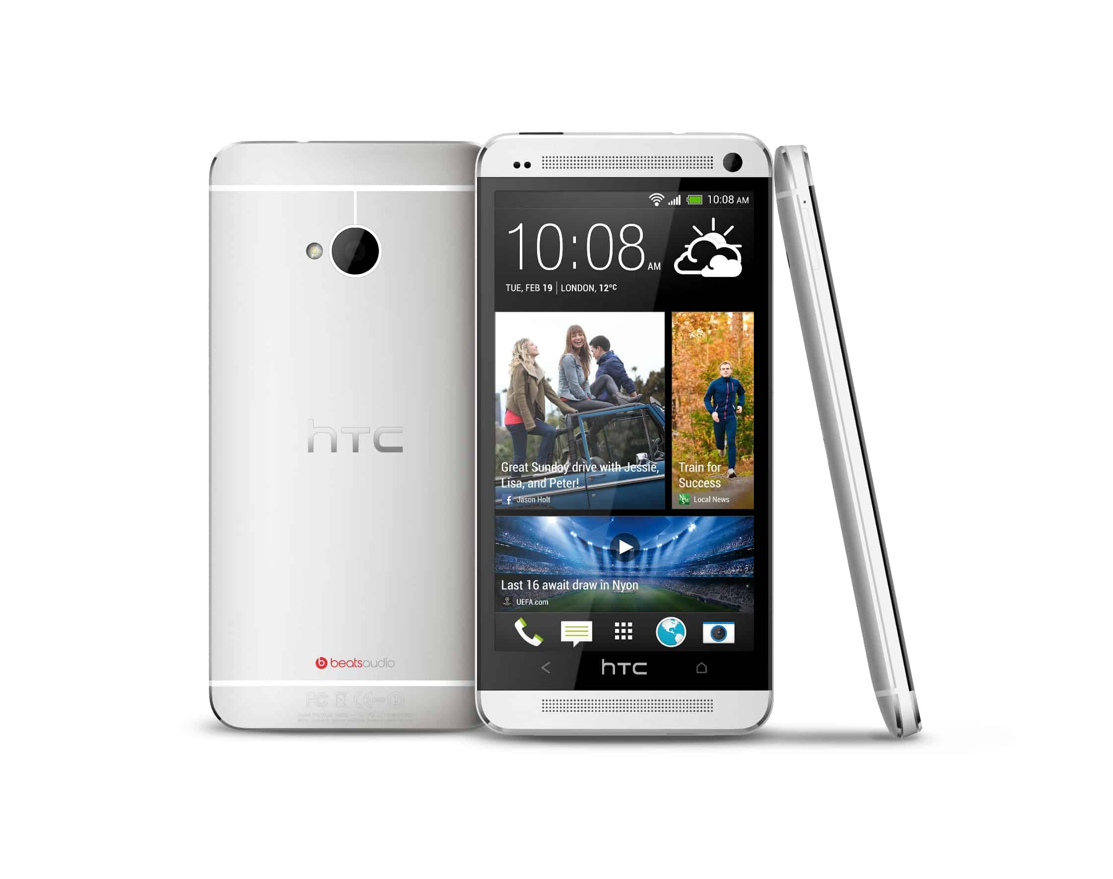 HTC ONE Silver BIG