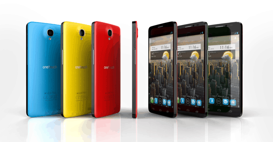 Alcatel One Touch Idol X Color Options