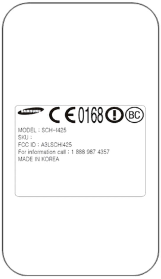 Samsung Godiva FCC