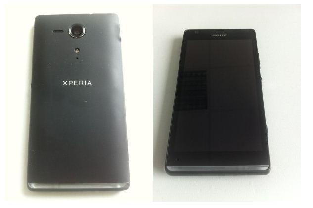 Sony Xperia SP Aluminum Build