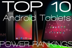 Featured: Top 10 Best Android Tablets, Monthly Power Rankings – April 2013