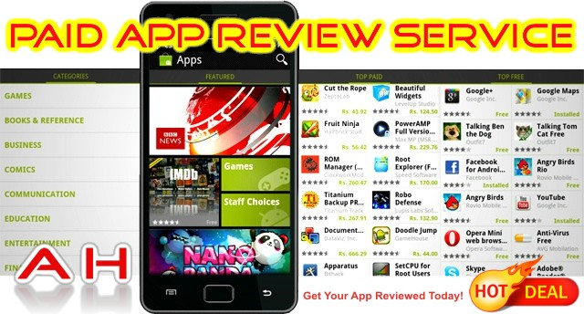 android-paid-app-review-service