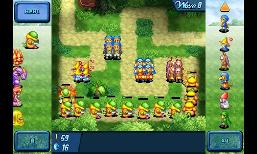 crystal defenders lite android game 1