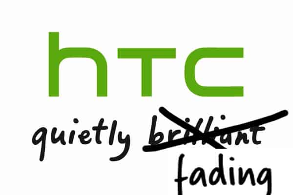 htc quietly fading