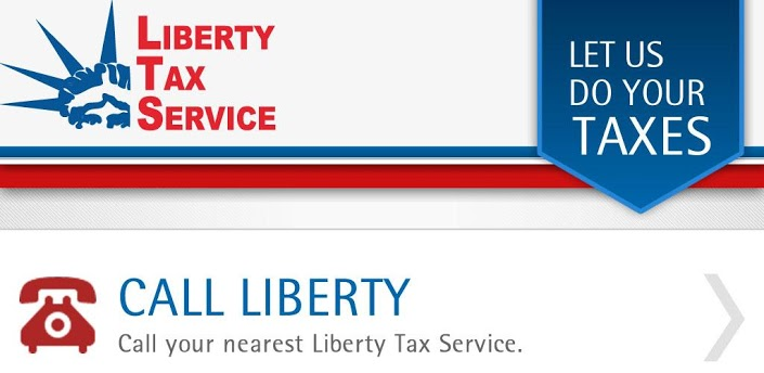 with the liberty...H And R Block Tax Free