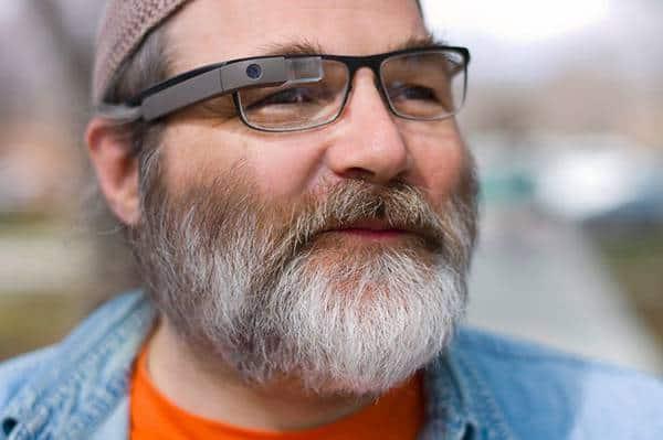 Greg Priest Dorman in prescription variant of Google Glass