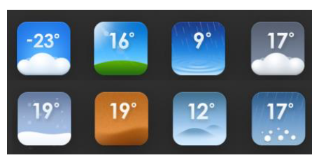MIUI-V5-weather-icons