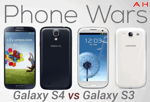 Phone Wars Galaxy S4 Vs Galaxy Galaxy S3