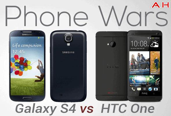 Phone Wars Galaxy S4 Vs HTC One