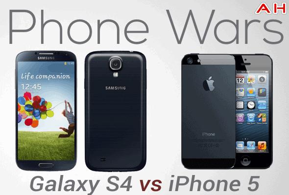 Phone Wars Galaxy S4 Vs iPhone 5