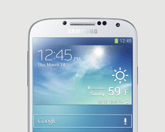 Galaxy S4 Half phone