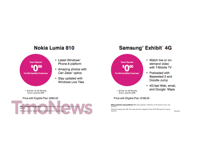 leak t mobile s uncarrier phone pricing for value plans get detailed