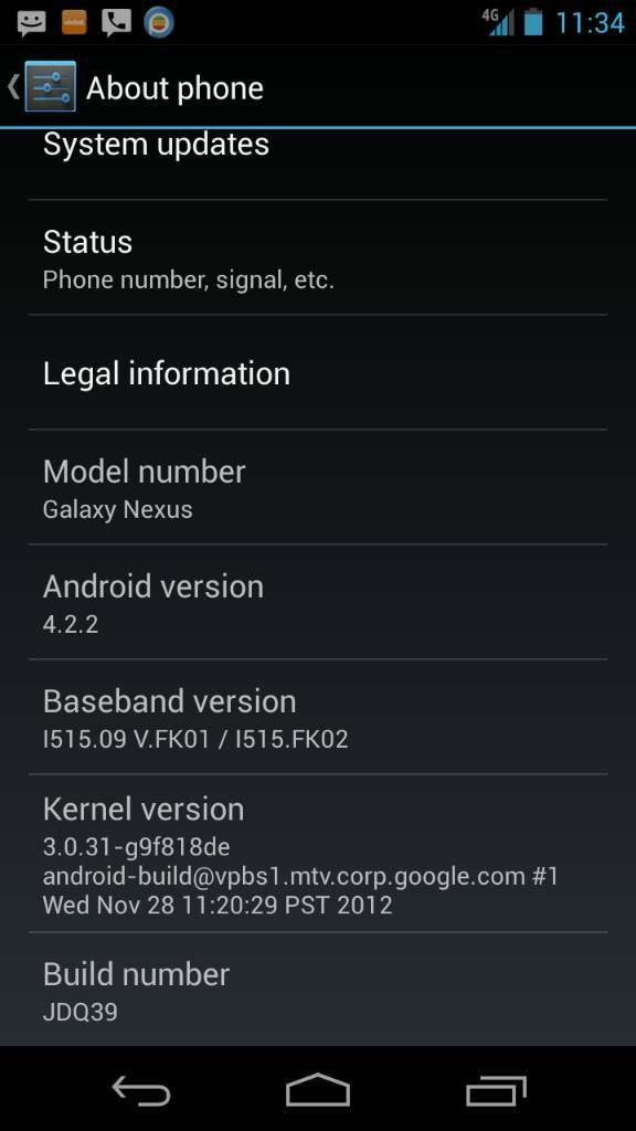 Nexus Verizon 4.2.2