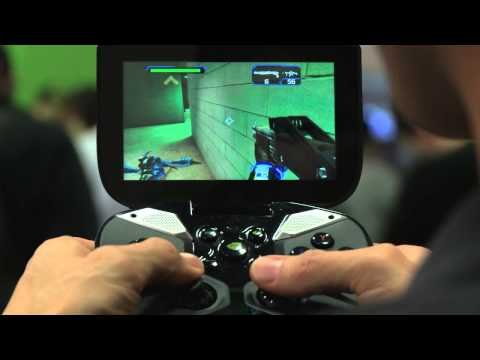 Video thumbnail for youtube video NVIDIA Shows Off the Tegra 4 Powered Project Shield Running The Conduit HD | Androidheadlines.com
