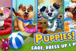 Sponsored Game Review: Puppy Dress Up & Care
