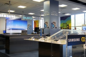 Best Buy 'Rents Space' to Samsung Within Changing Market
