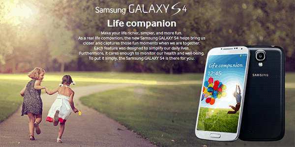 Galaxy S4 Life Companion