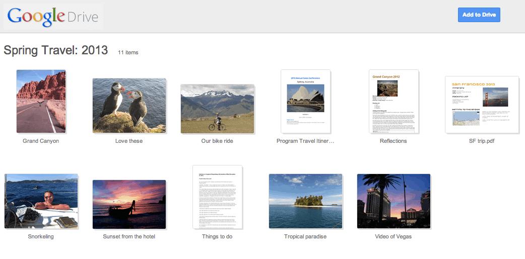 New Google Drive UI