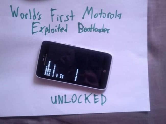 Motorola Bootloader Cracked