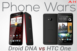 Android Phone Wars: HTC Droid DNA vs HTC One