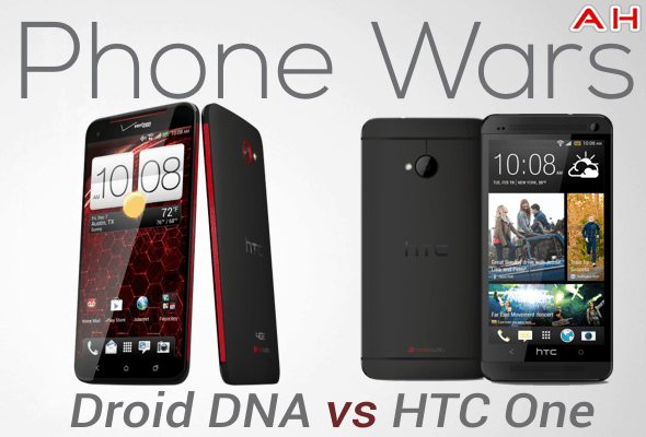 Phone Wars Droid DNA Vs HTC One