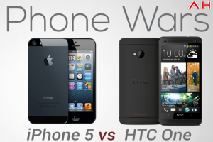 Android Phone Wars: Apple iPhone 5 vs HTC One