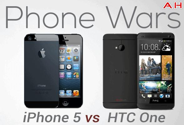 Phone Wars iPhone 5 Vs HTC One
