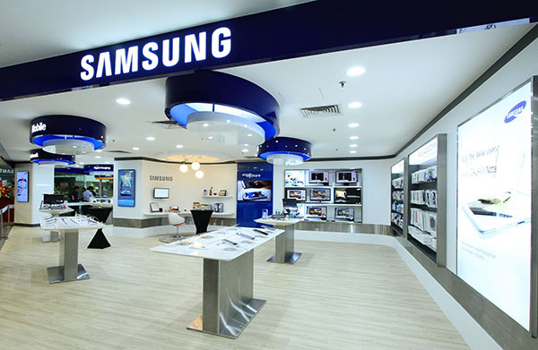 Samsung logo store
