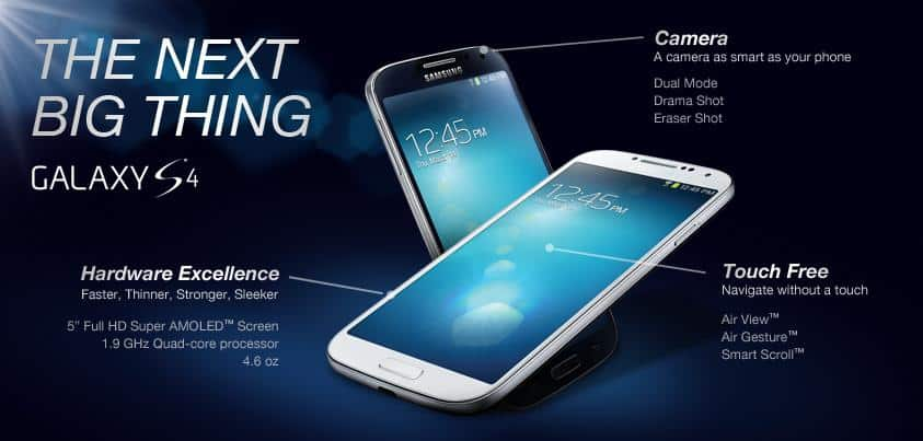The Samsung Galaxy s4 siv promo