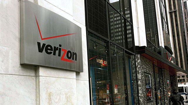 Verizon Wireless outdoor