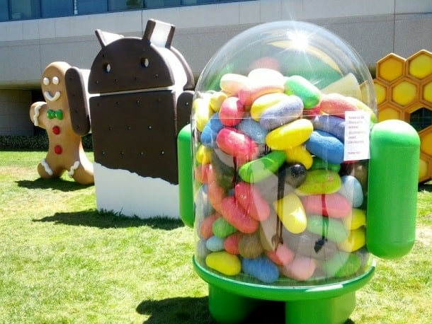 android-jelly-bean-statue