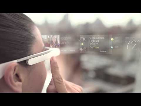 Video thumbnail for youtube video Google Releases Getting Started Video for Glass, Reveals Basics of the Platform   Androidheadlines.com