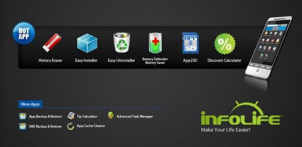 infolife app cache cleaner