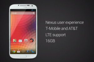 Samsung Galaxy S4 with the Nexus User Experience Said to be US Only