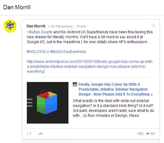 Dan Morrill Google+