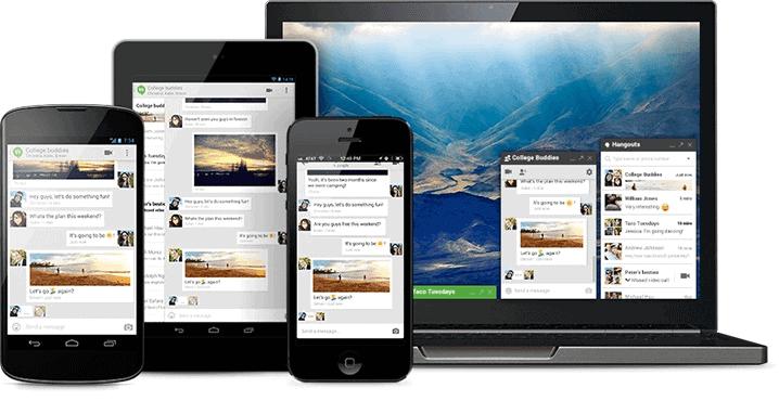 Google Hangouts Cross Platform