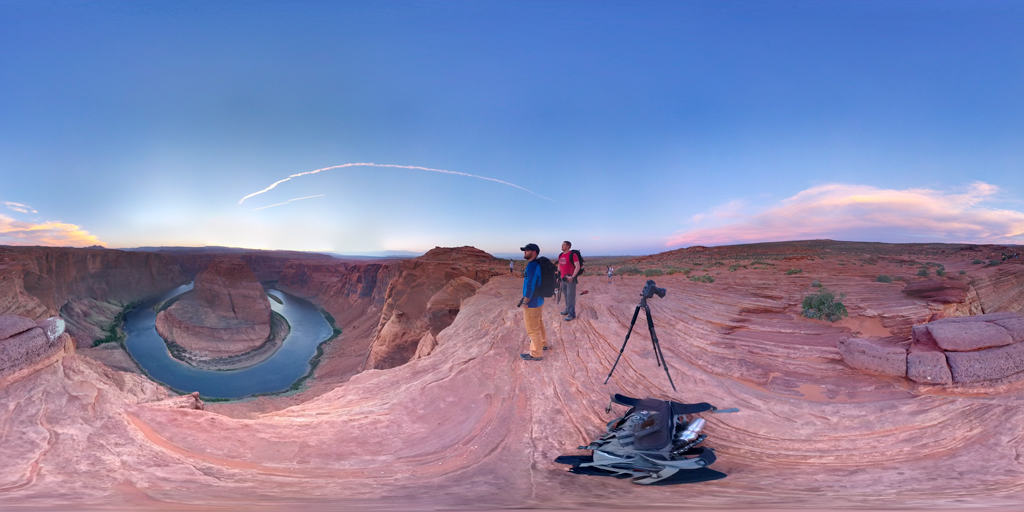 Horseshoe Bend Photo Sphere from Colby Brown Photography