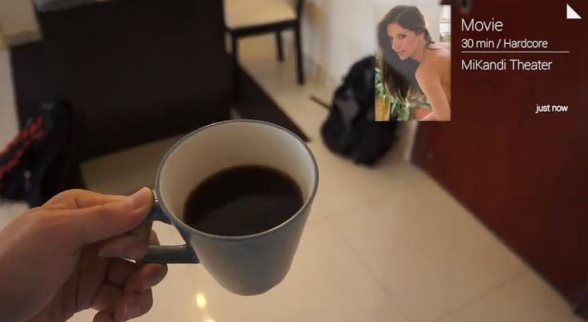 MiKandi Porn App for Glass