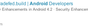 Android 4.3 Gets Confirmed Ahead of Google I/O's Keynote