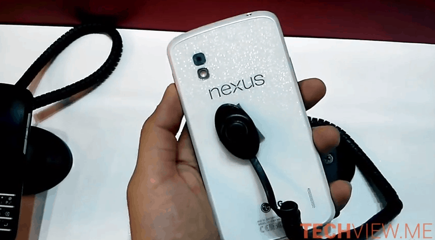 White Nexus 4 Video Image