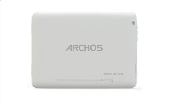 archos 80xenon Back slide 5
