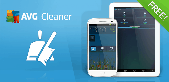 avg cache clearing app