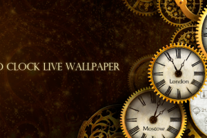 Featured App Review: Gold Clock Live Wallpaper