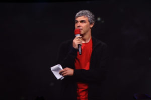 Larry Page Returns to Google I/O To Wrap Up the Opening Day Keynote