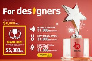Buzz Launcher Kicks Off Contest with Up to $8,000 in Prizes, You Can Win $300 Just for Sharing Designs