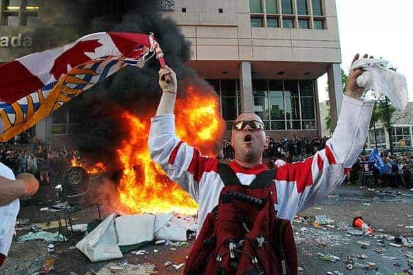 Canada Riots