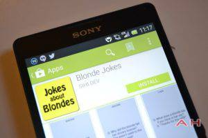 App of the Day: Blonde Jokes