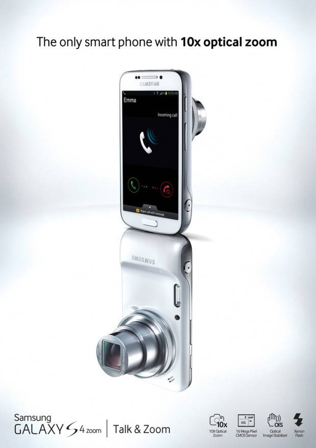 GALAXY S4 zoom (9) Key Visual