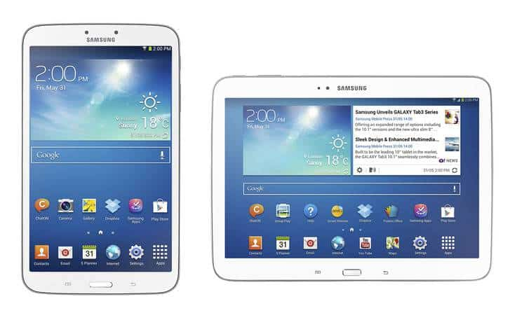 Galaxy Tab 3 Series